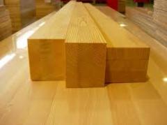 Брус деревянный сосна