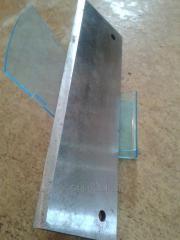 Нож измельчителя (400х130мм)