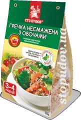 Гречка нежареная с овощами, 0,232кг