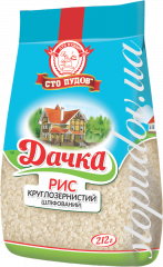 Рис круглозернистый Дачка,  0, 212 кг