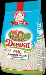 Рис длиннозернистый Дачка,  0, 212кг