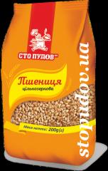 Пшеница цельнозерновая,  0, 2 кг