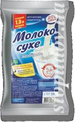 Молоко сухое 25%,  150 г
