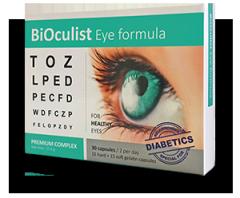 Капсулы для здоровья глаз BIOculist Биокулист