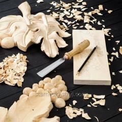Стамески отлогие STRYI для резьбы по дереву, ширина: 30 мм. Профиль 5, арт..00530