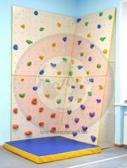 Climbing wall for children