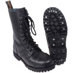 Тактические ботинки берцы черные MFH