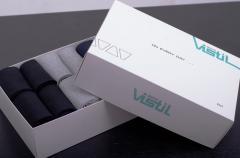 Комплекты мужских носков vistil в коробке 24шт