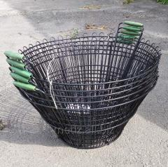 Корзины металические,хозяственные, садовый инвертарь. 140 грн/шт