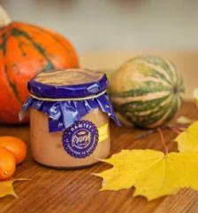 """Chicken liver pate """"with pumpkin and candied"""