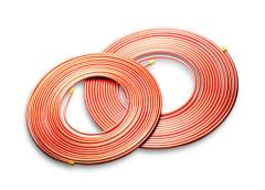 Copper pipes for air conditioners