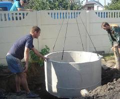 Септик из бетонных колец для загородного дома