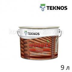 Антисептик лессирующий Teknos WOODEX CLASSIC (Вудекс классик), 9л