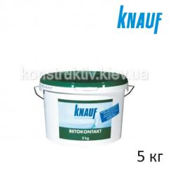 Грунт бетон-контакт Кнауф (Knauf) Бето-Контакт, 5