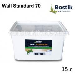 Клей для стеклохолста Bostik Wall Standard 70, 15 л