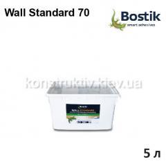 Клей для стеклохолста Bostik Wall Standard 70, 5 л