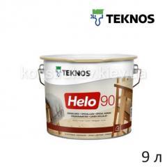 Лак для дерева специалный Teknos HELO 90 (Хело 90), 9 л (глянцевый)