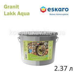 Лак для камня декоративный Eskaro, Granit Lakk Aqua, 2,37 л (полуматовый)