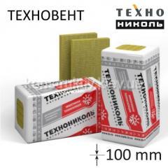 Мінеральна вата ТЕХНОВЕНТ СТАНДАРТ 80 кг/м3 1200*600*100 мм(10см)
