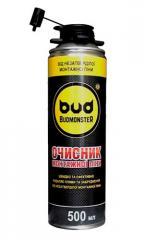 Очиститель монтажной пены Budmonster, 500 мл