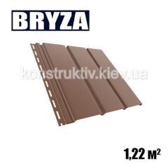 Панель софит, 4х0,31м, коричневый