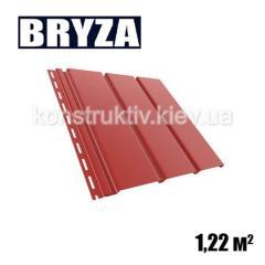Панель софит, 4х0,31м, красный