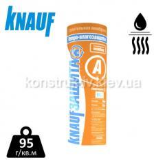 Паропроникающая ветро-влагозащитная мембрана марки «KNAUFЗащита А» 1,6*43,75 рулон 70м.кв