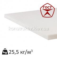 Пенопласт ГОСТ плотность 25,5 кг