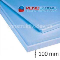 Плита полистирольная Penoboard 100*600*1250мм (0,75 кв.м)