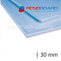 Плита полистирольная Penoboard 30*600*1250мм