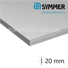Плита полистирольная SYMMER 20*550*1200мм (0,66 кв.м)