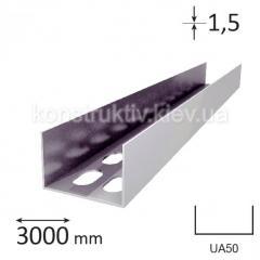 Профиль для гипсокартона UA 50, 3 м. (1,5мм)