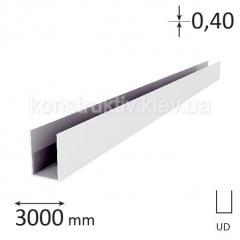 Профиль для гипсокартона UD 27, 3 м (0,40) Евро плюс
