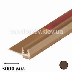 Профиль примыкания оконных откосов 3,0 м (коричневый)
