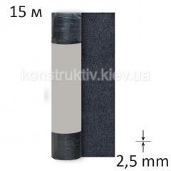 Рубероид подкладочный Изолит Стеклополимаст ХПП 2,5, 15 м