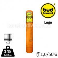 Сетка стеклотканевая BudMonster LOGO (1*50 м) 5*5 145 г/м.кв.