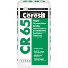 Смесь гидроизоляционная Церезит (Ceresit) СR 65/25 (жесткая)