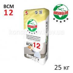 Смесь для кладки блоков Ансерглоб (Anserglob) ВСМ-12, 25 кг