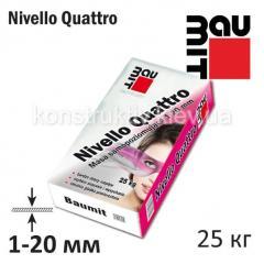 Смесь самовыравнивающаяся Баумит (Baumit) Nivello Quattro 1-20 мм , 25 кг