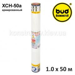 Стеклополотно (стеклохолст) нетканое армированное BudMonster ХСН-50а, 1*50м