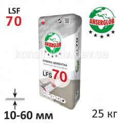 Стяжка для пола Ансерглоб (Anserglob) LFS-70, 10-60 мм 25 кг