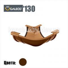 Угол внешний/внутренний регулируемый, Galeco 130 (RAL 8017)
