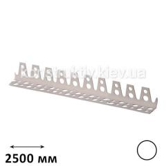Уголок штукатурный металлический крашенный для мокрой штукатурки 2,5 м