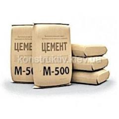Цемент ПЦ-II/А-Ш 500 25 кг. (Кривой Рог) буква Н