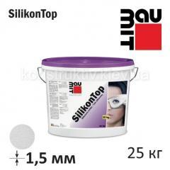 Штукатурка силиконовая Баумит СиликонТоп барашек 1,5 мм, 25 кг