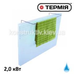Электроконвектор настенный брызгозащитный (h=450мм) с рамкой для сушки, ЭВНА - 2,0 С (мб), серия Элит