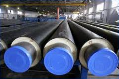 The pipes preisolated always available with