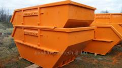 Контейнер металлический для бытовых отходов DIN
