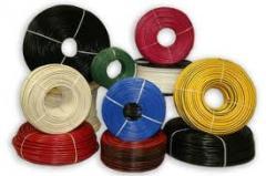 Кабели электрические спиральные с пластиковой изоляцией,купить Кабели электрические плоские изолированные