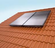 Solar collector of TGS of-5 kW.